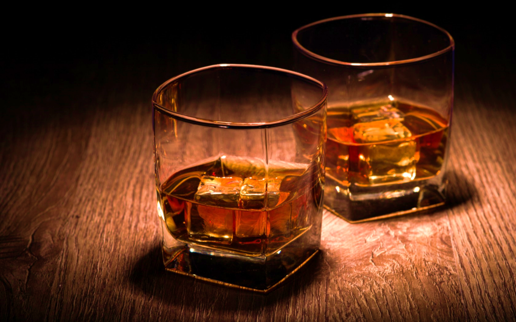 Whisky in Glass