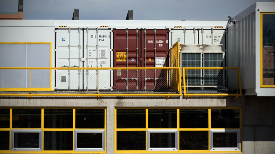 Storage containers Glasgow